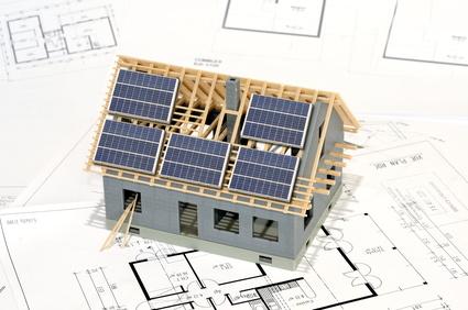 Projet de maison à energie positive.