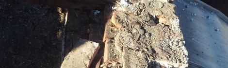 Nepravilna sanacija strehe - Ulica talcev